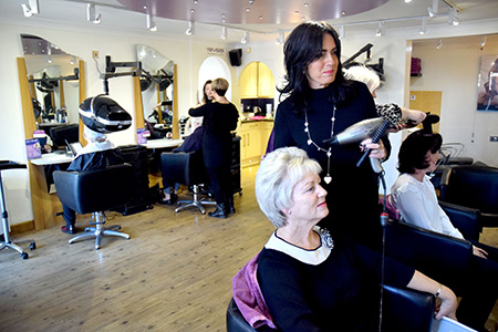 About Hairdressers Bradwell